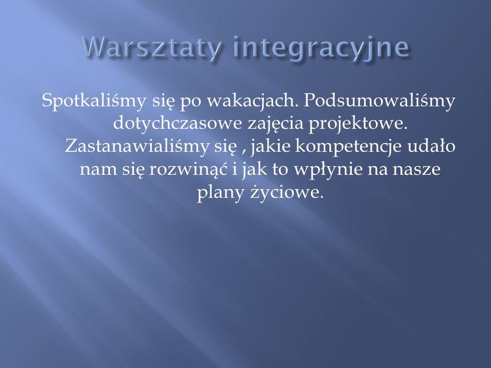 Warsztaty integracyjne