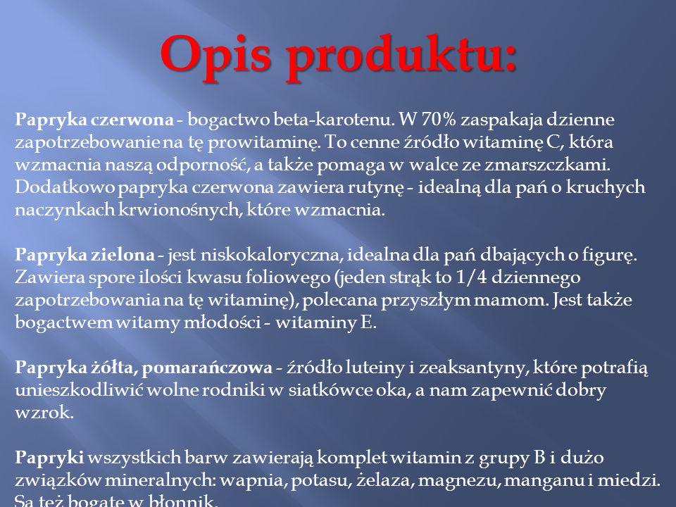 Opis produktu: