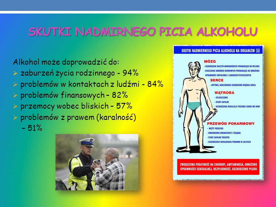 SKUTKI NADMIRNEGO PICIA ALKOHOLU