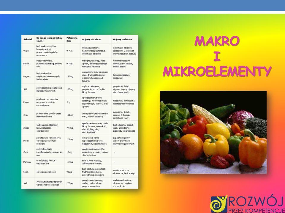 Makro i mikroelementy