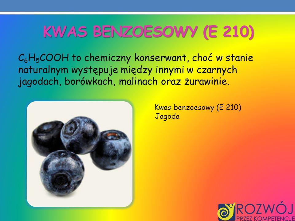 Kwas benzoesowy (E 210)