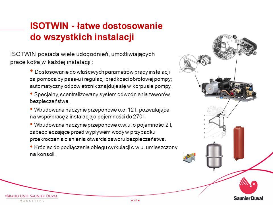 ISOTWIN - łatwe dostosowanie do wszystkich instalacji