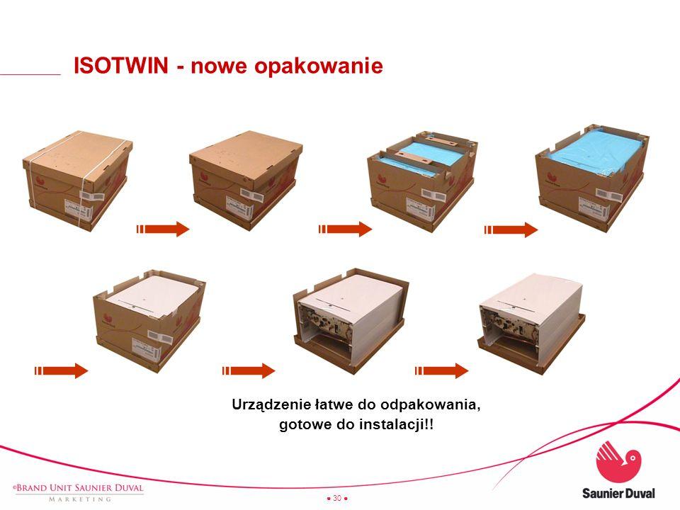 ISOTWIN - nowe opakowanie