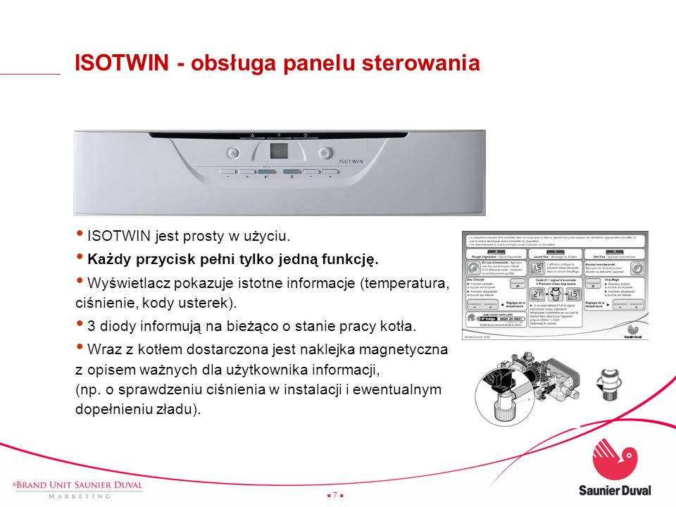 ISOTWIN - obsługa panelu sterowania