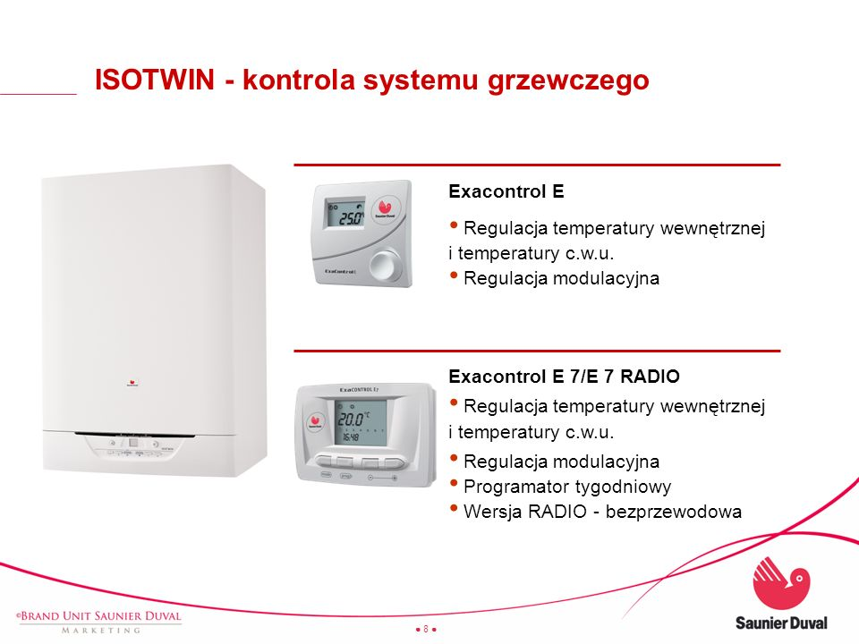 ISOTWIN - kontrola systemu grzewczego