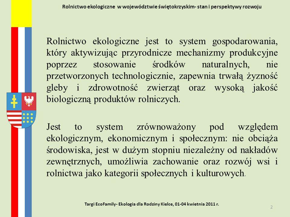 Targi EcoFamily- Ekologia dla Rodziny Kielce, 01-04 kwietnia 2011 r.