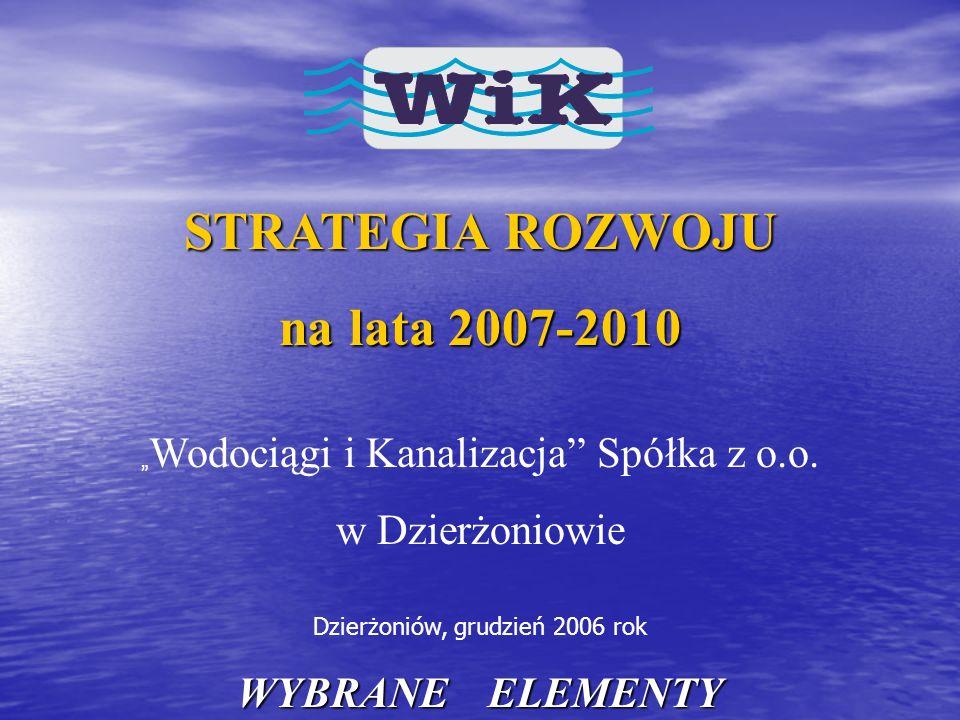 STRATEGIA ROZWOJU na lata 2007-2010
