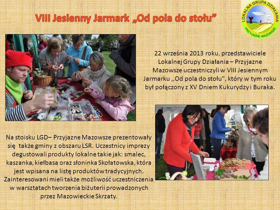 """VIII Jesienny Jarmark """"Od pola do stołu"""