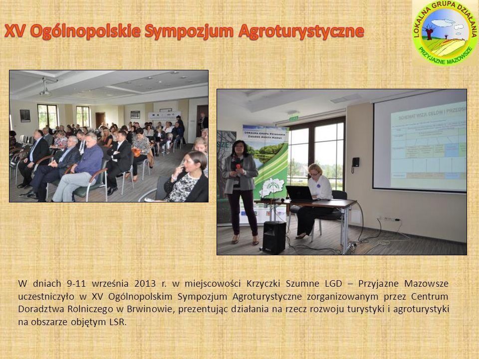 XV Ogólnopolskie Sympozjum Agroturystyczne