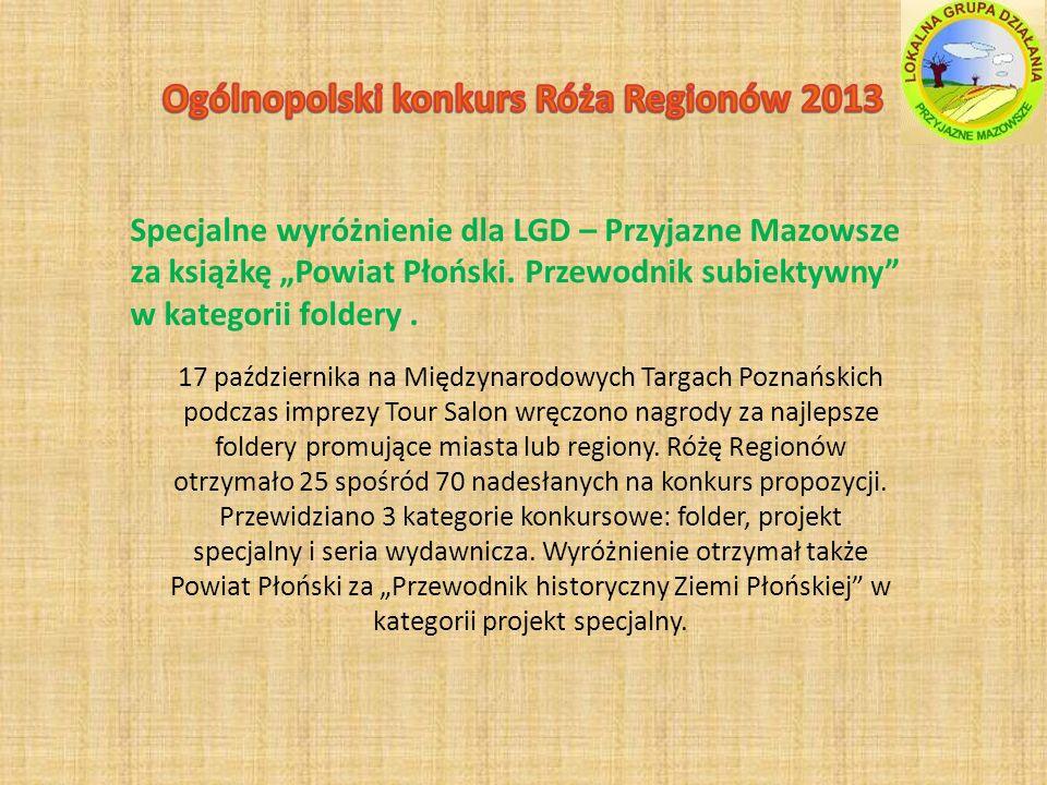 Ogólnopolski konkurs Róża Regionów 2013