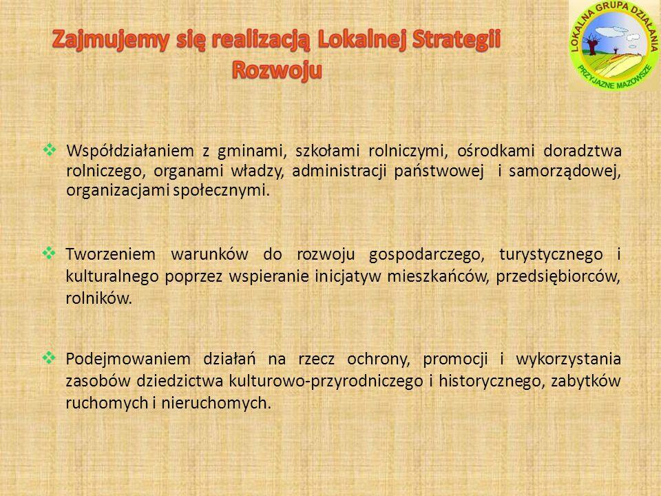 Zajmujemy się realizacją Lokalnej Strategii Rozwoju