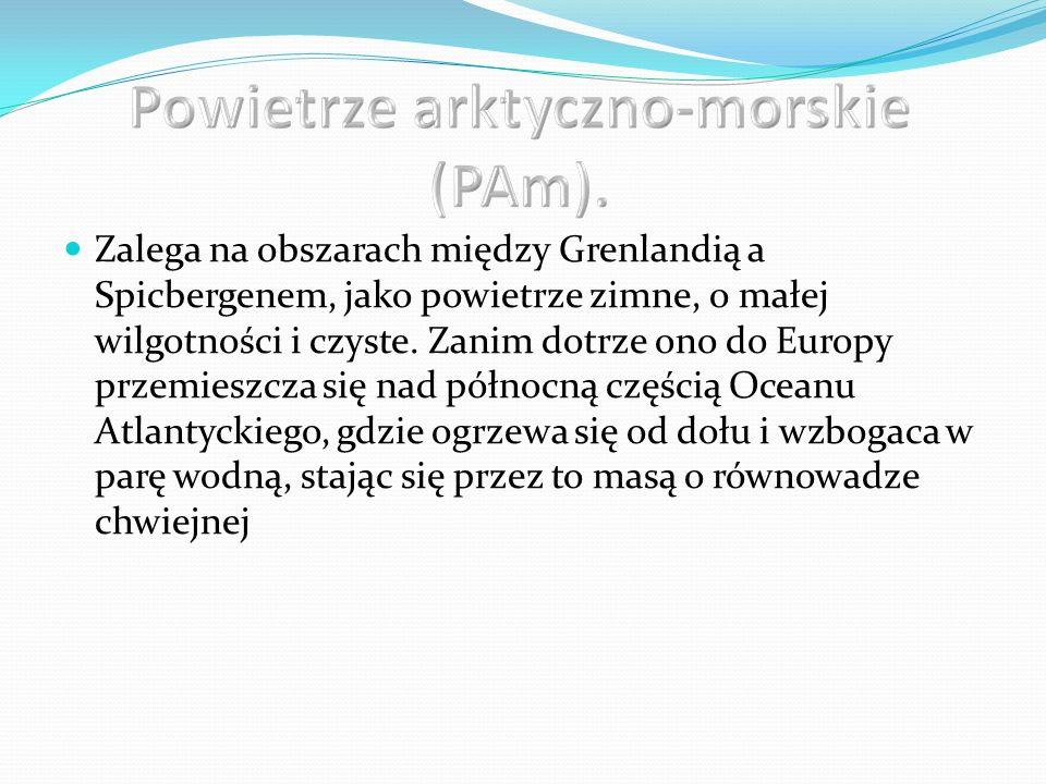 Powietrze arktyczno-morskie (PAm).
