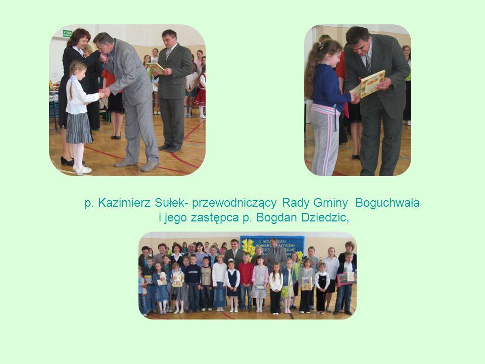 p. Kazimierz Sułek- przewodniczący Rady Gminy Boguchwała i jego zastępca p. Bogdan Dziedzic,