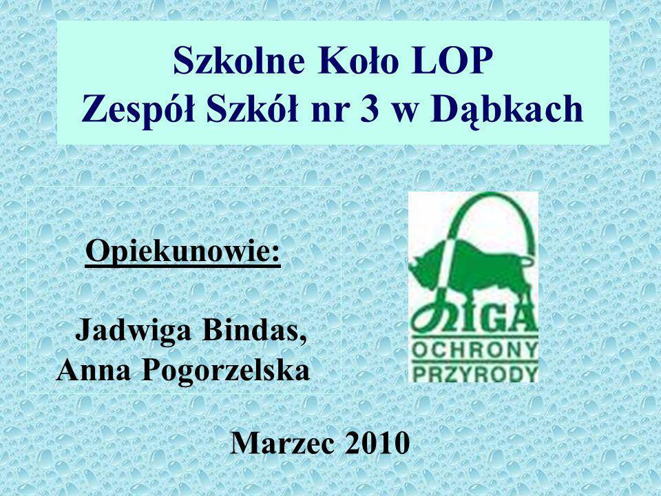 Szkolne Koło LOP Zespół Szkół nr 3 w Dąbkach