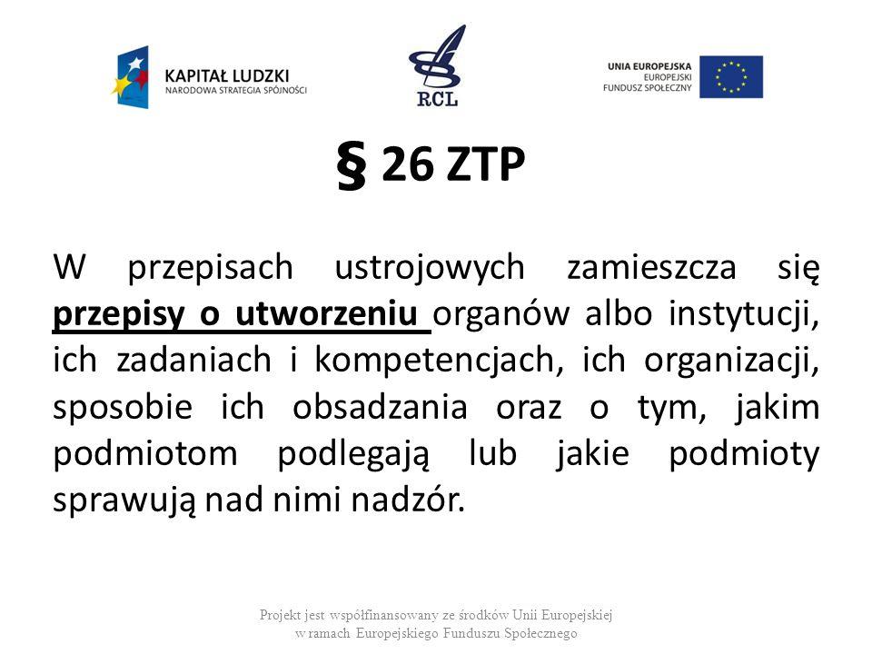 § 26 ZTP