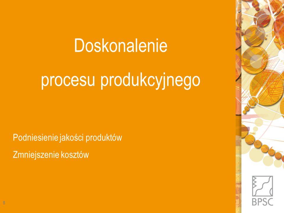 procesu produkcyjnego
