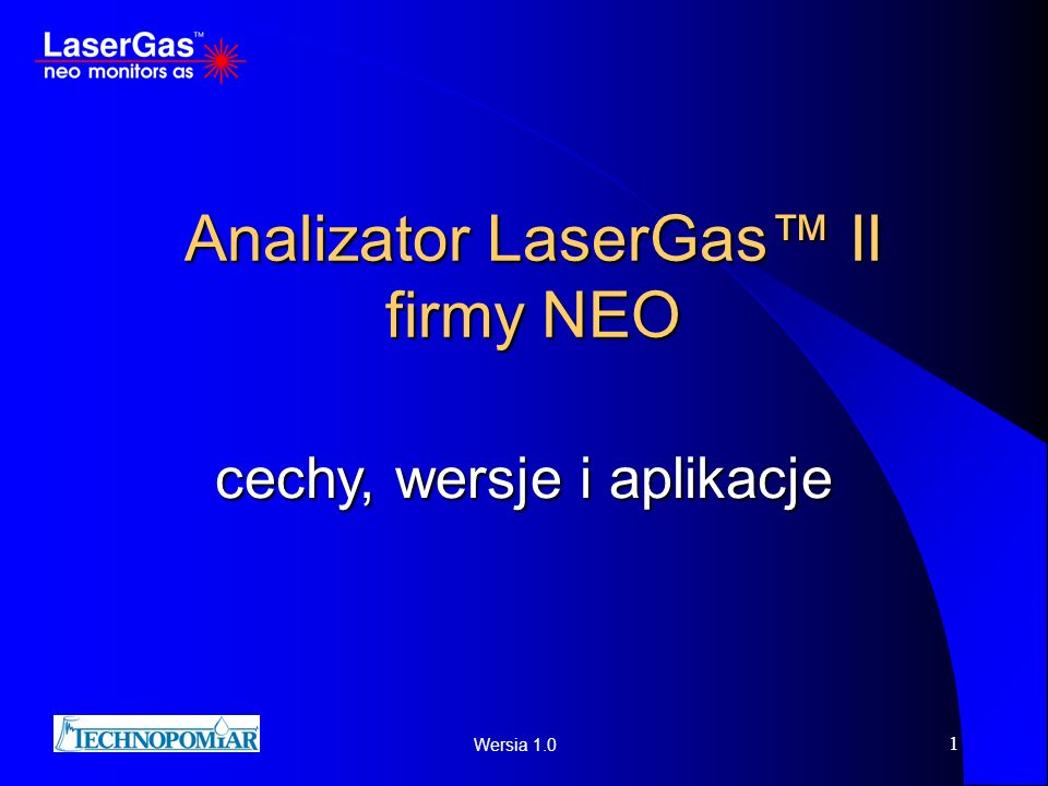 Analizator LaserGas™ II firmy NEO