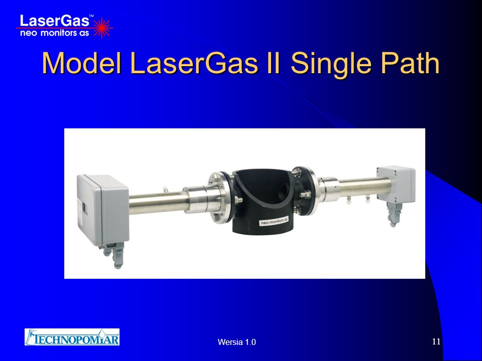 Model LaserGas II Single Path