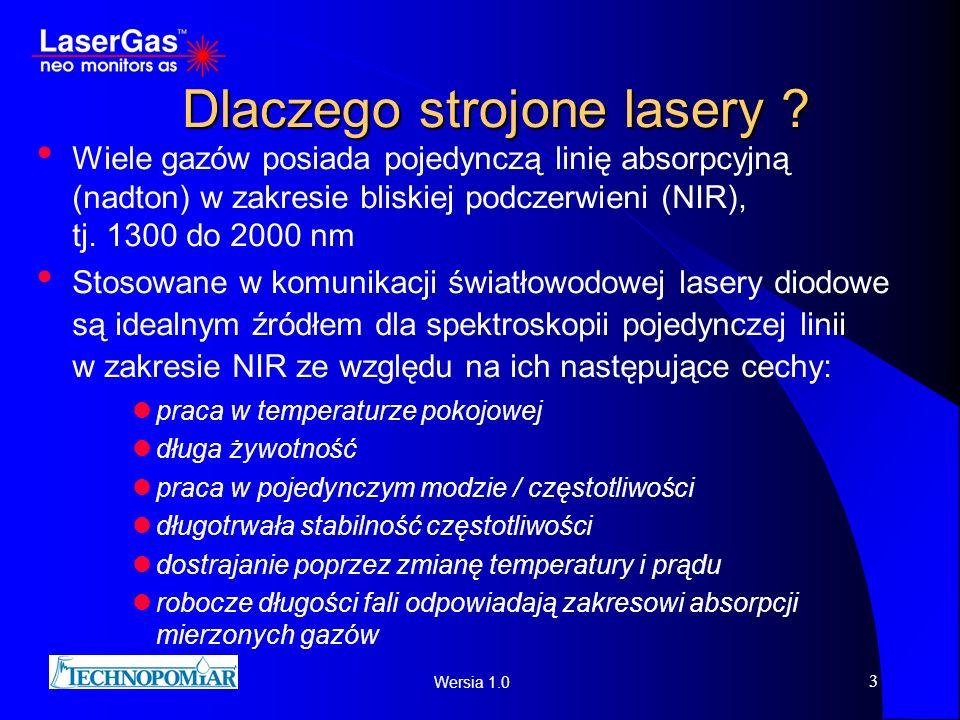 Dlaczego strojone lasery
