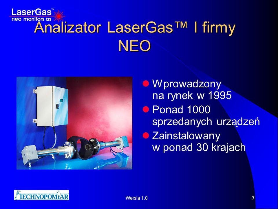 Analizator LaserGas™ I firmy NEO