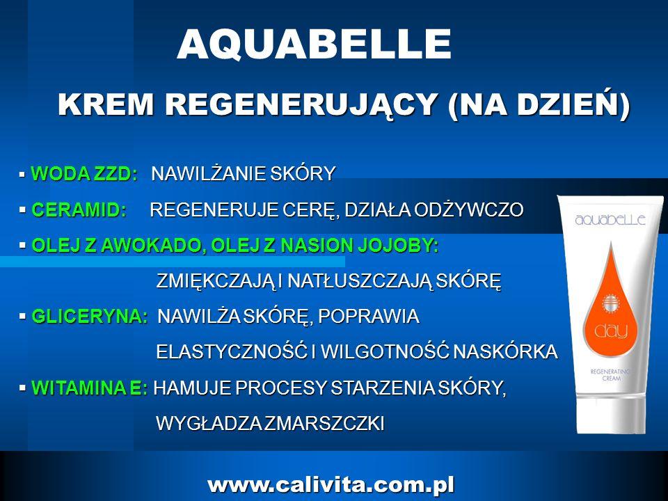 AQUABELLE KREM REGENERUJĄCY (NA DZIEŃ) www.calivita.com.pl