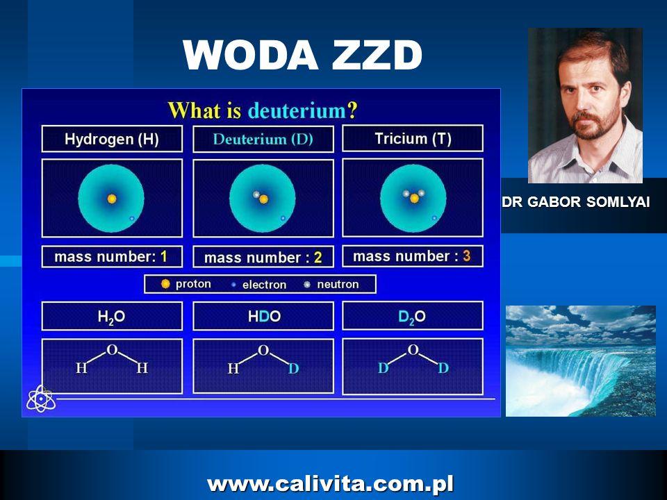 WODA ZZD DR GABOR SOMLYAI www.calivita.com.pl
