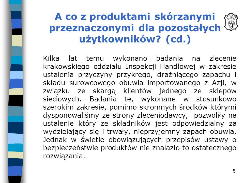 A co z produktami skórzanymi przeznaczonymi dla pozostałych użytkowników (cd.)