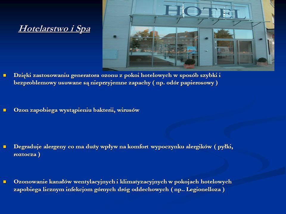 Hotelarstwo i Spa