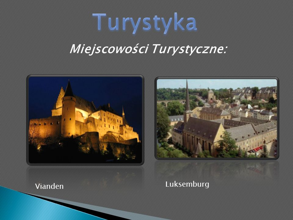 Miejscowości Turystyczne: