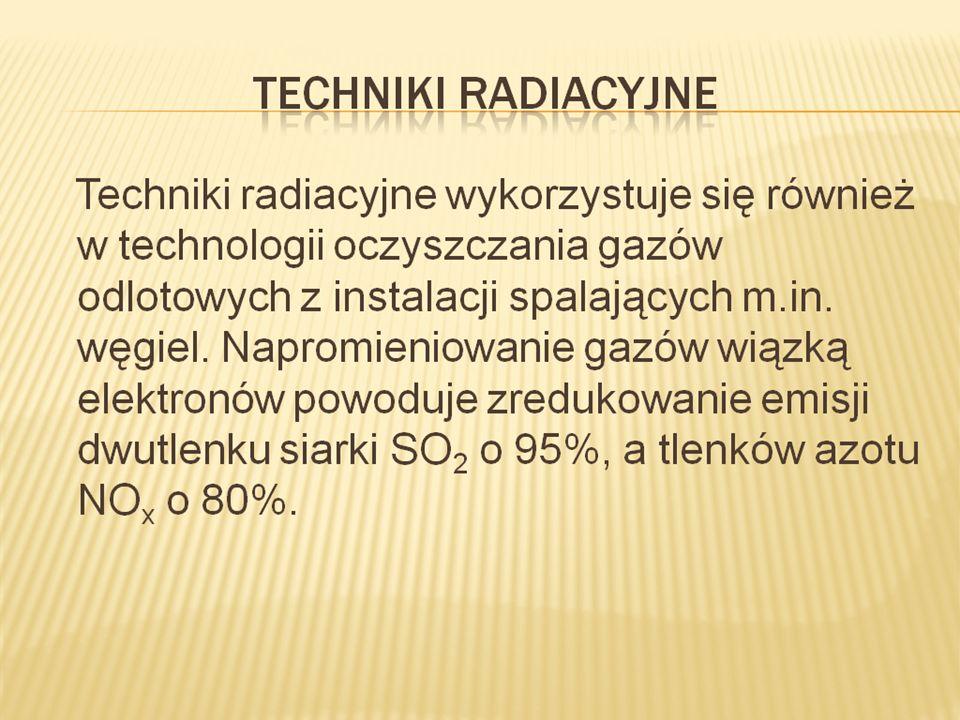 Techniki radiacyjne