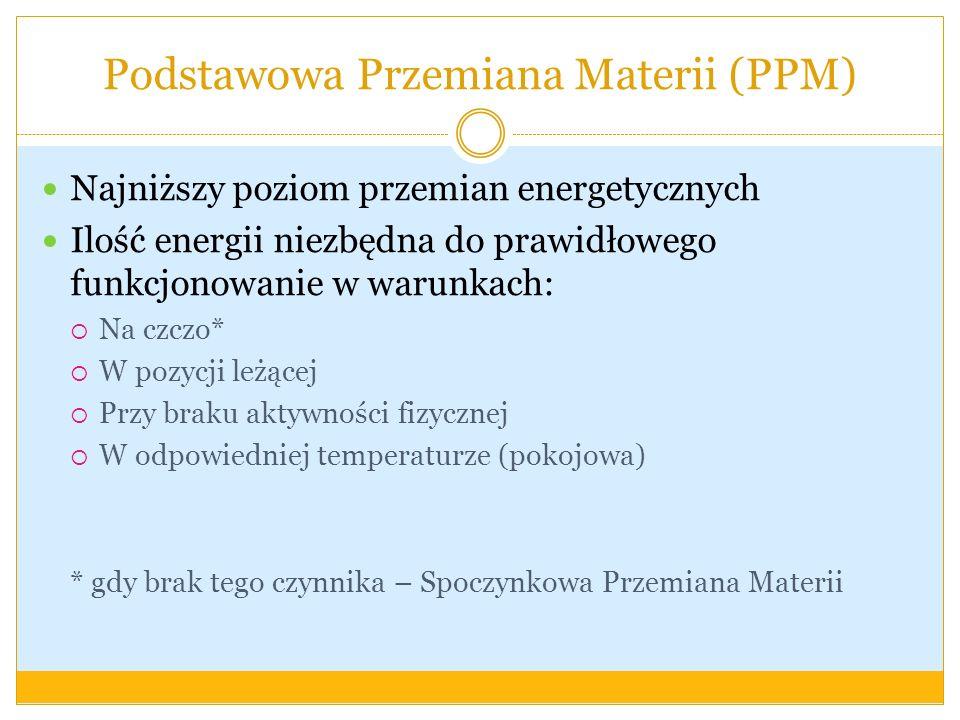 Podstawowa Przemiana Materii (PPM)