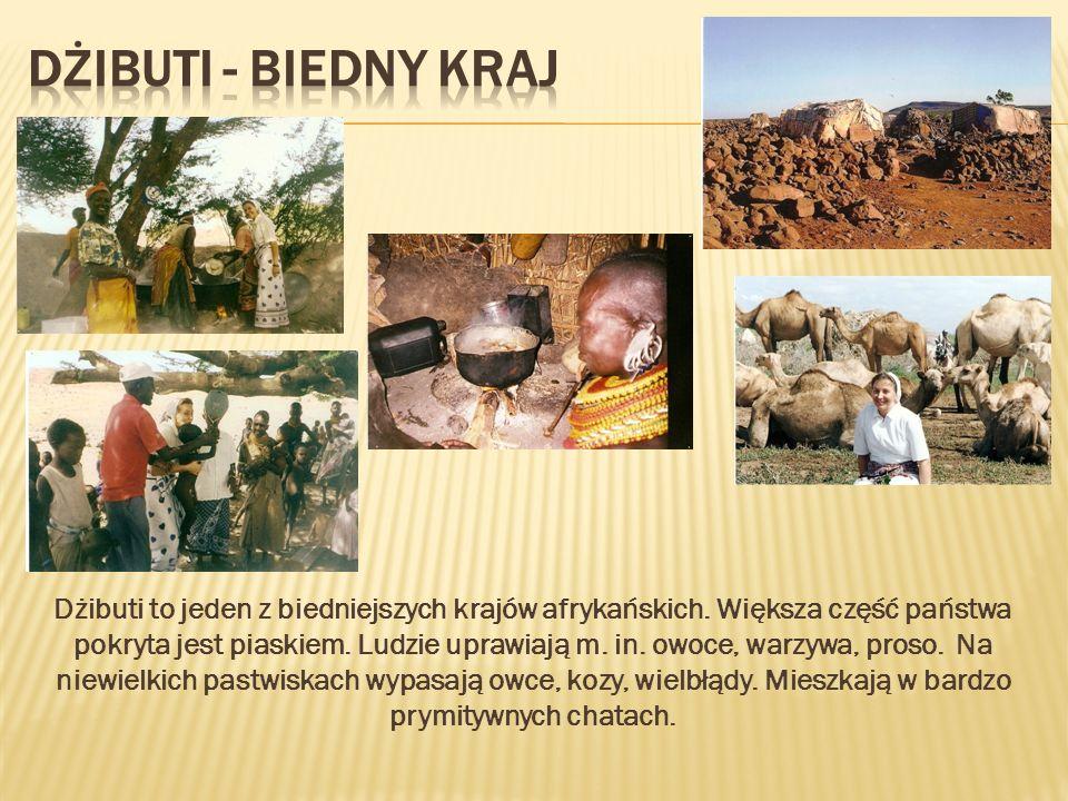 Dżibuti - biedny kraj