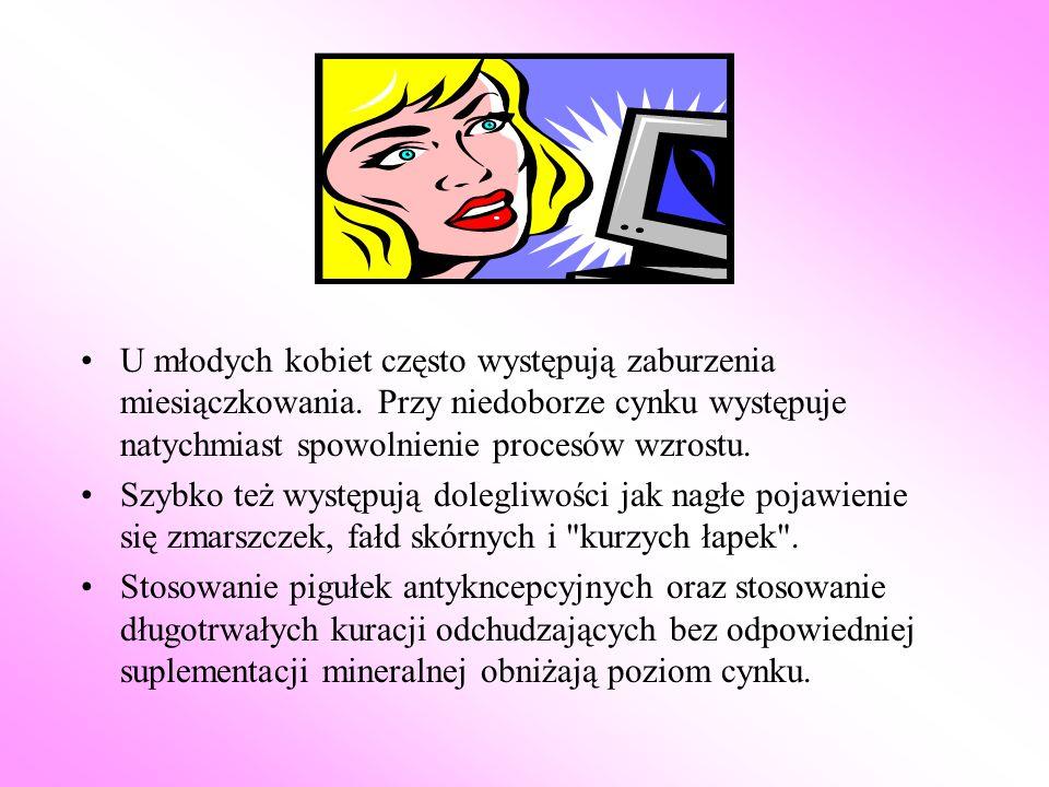 U młodych kobiet często występują zaburzenia miesiączkowania