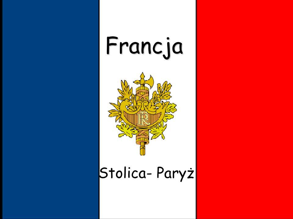 Francja Stolica- Paryż