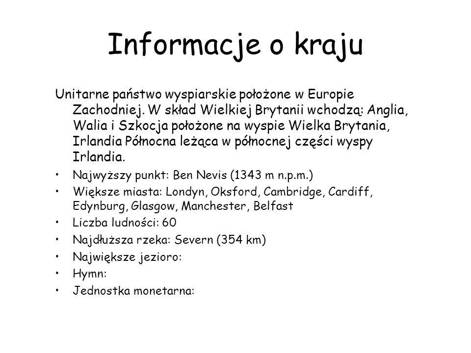 Informacje o kraju