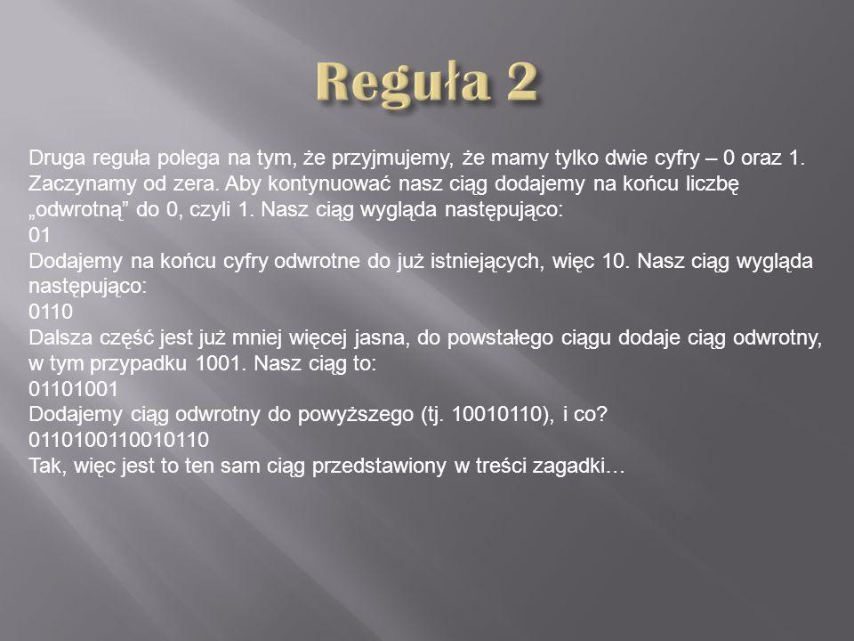 Reguła 2