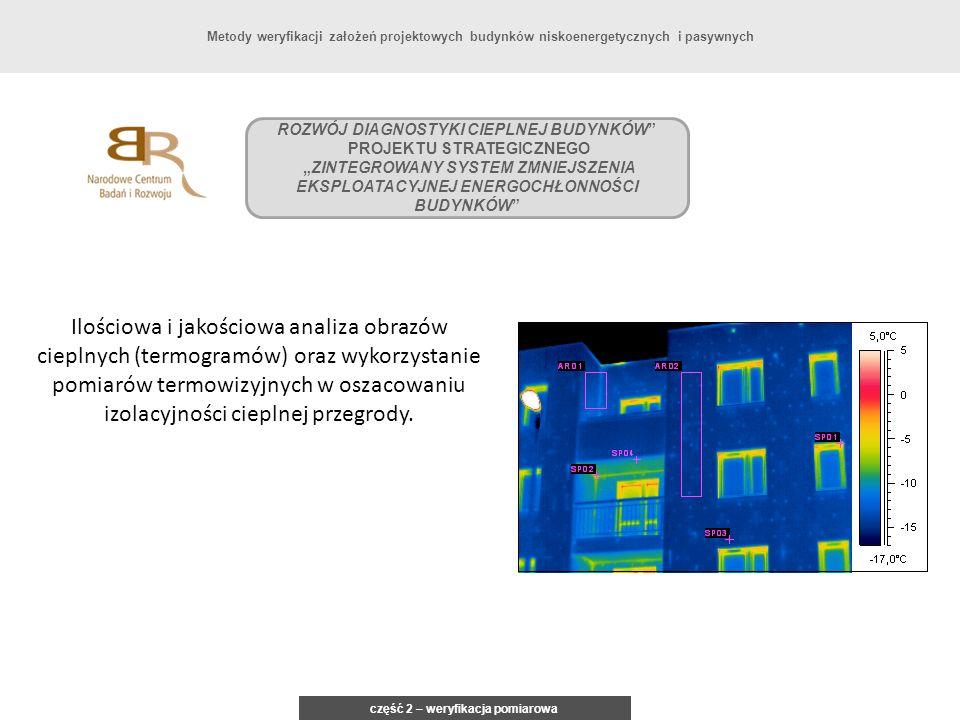 Metody weryfikacji założeń projektowych budynków niskoenergetycznych i pasywnych