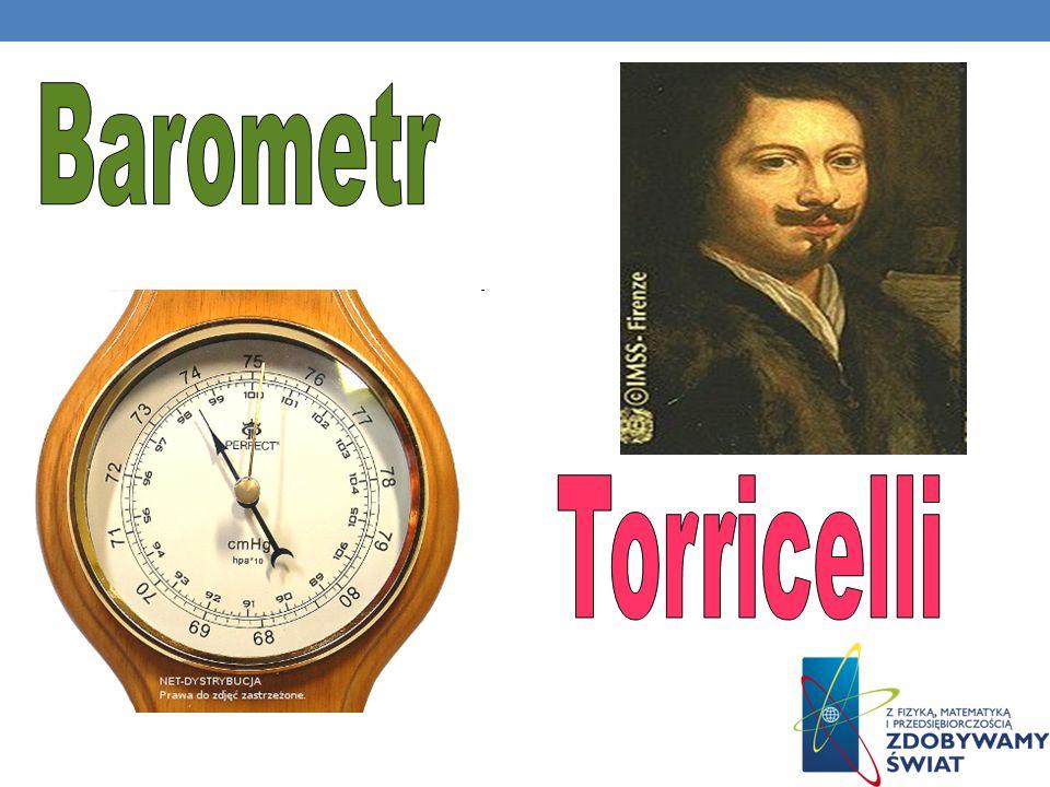 Barometr Torricelli
