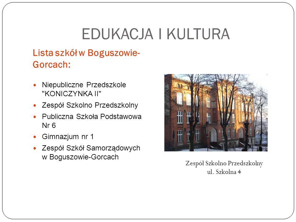 Zespół Szkolno Przedszkolny ul. Szkolna 4