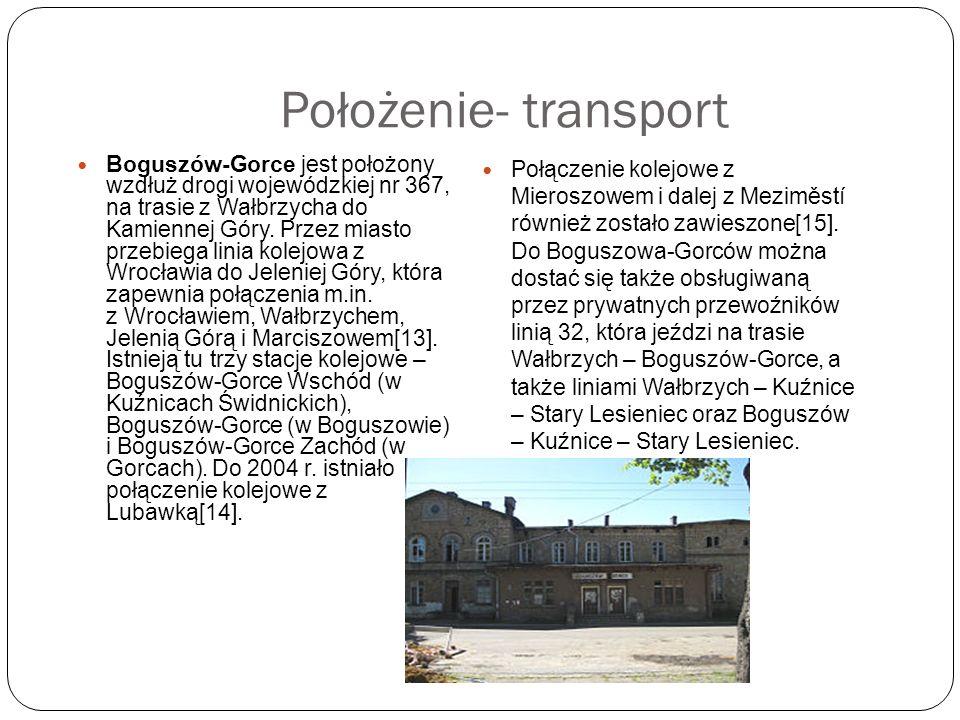 Położenie- transport