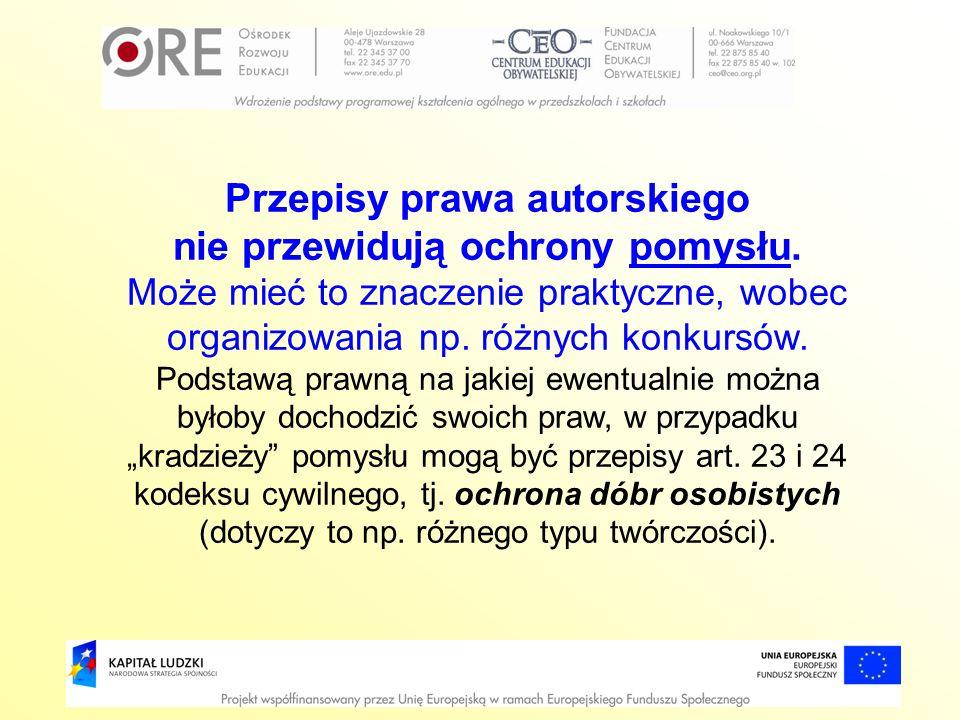 Przepisy prawa autorskiego
