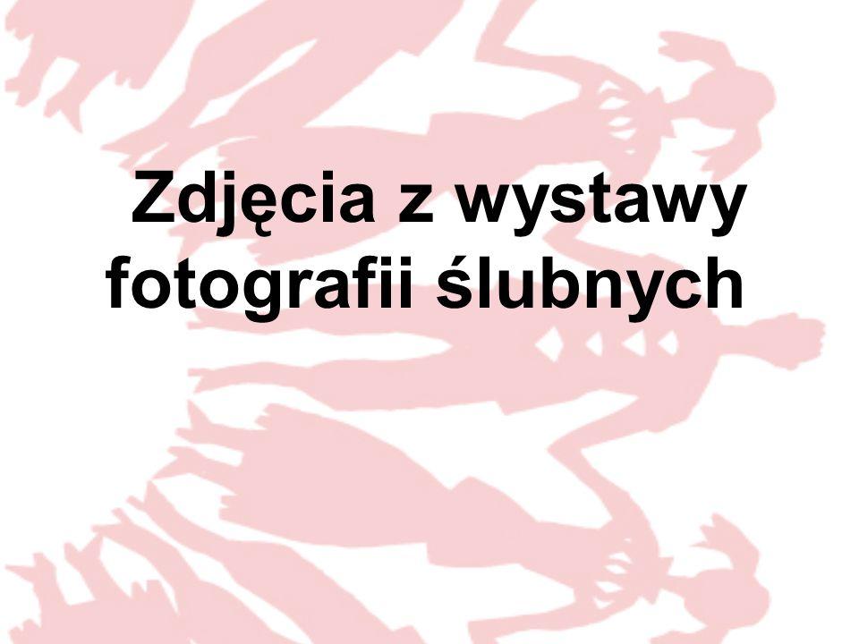 Zdjęcia z wystawy fotografii ślubnych