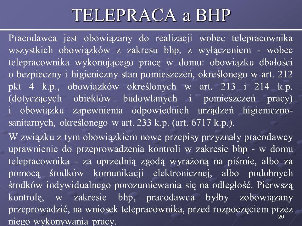 TELEPRACA a BHP