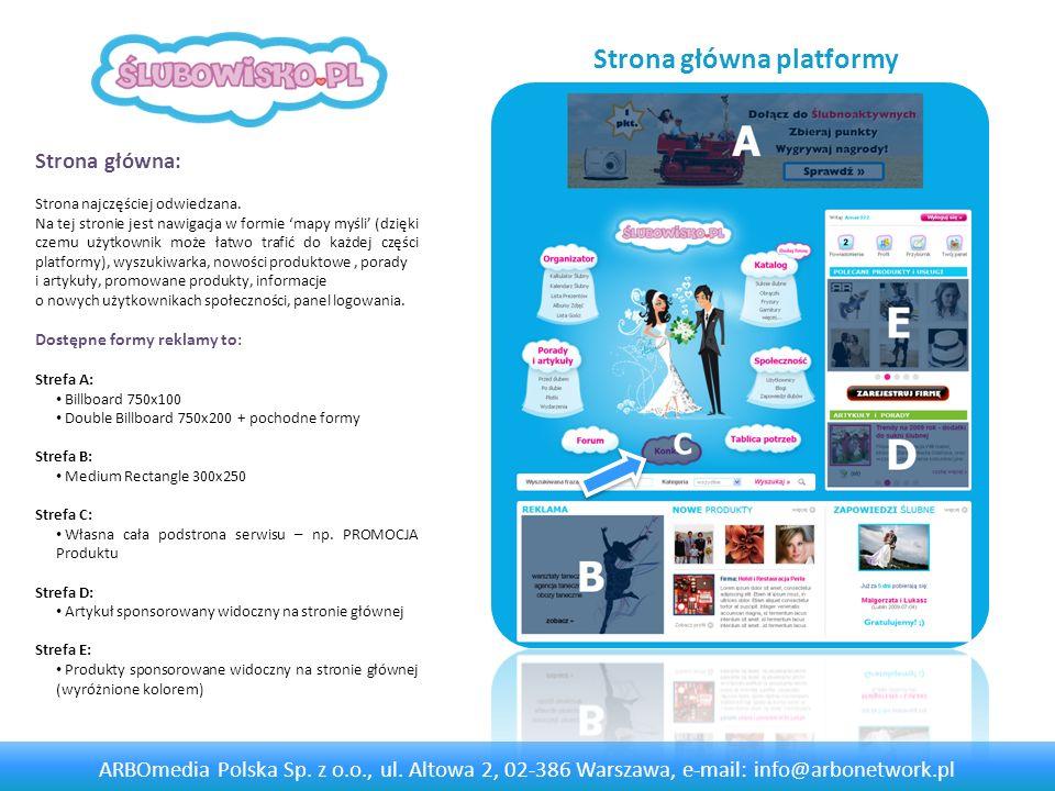 Strona główna platformy