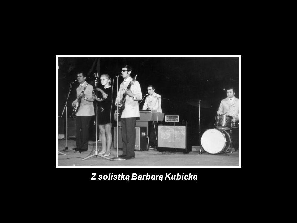 Z solistką Barbarą Kubicką