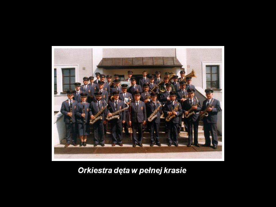 Orkiestra dęta w pełnej krasie