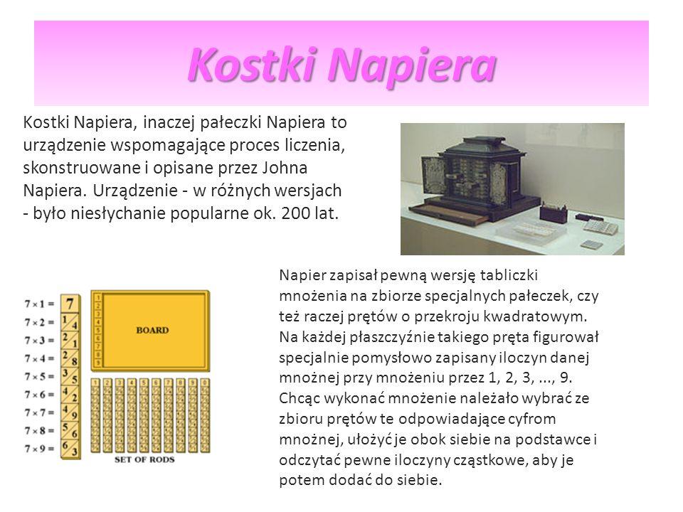 Kostki Napiera