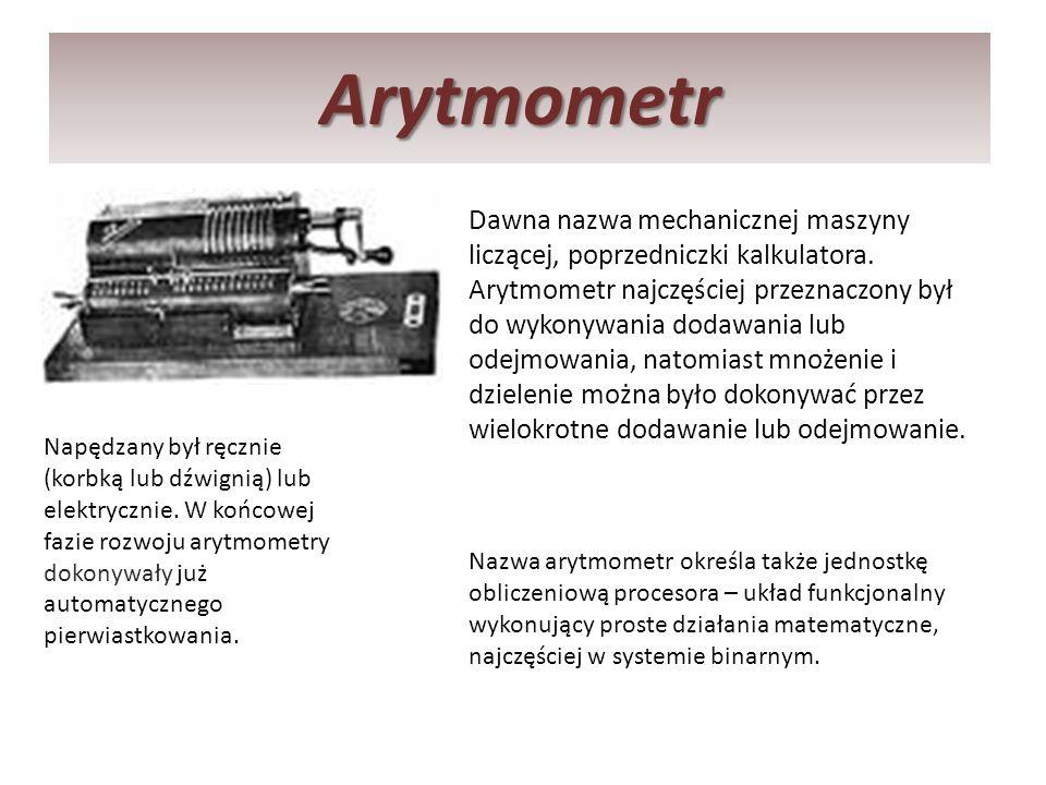 Arytmometr