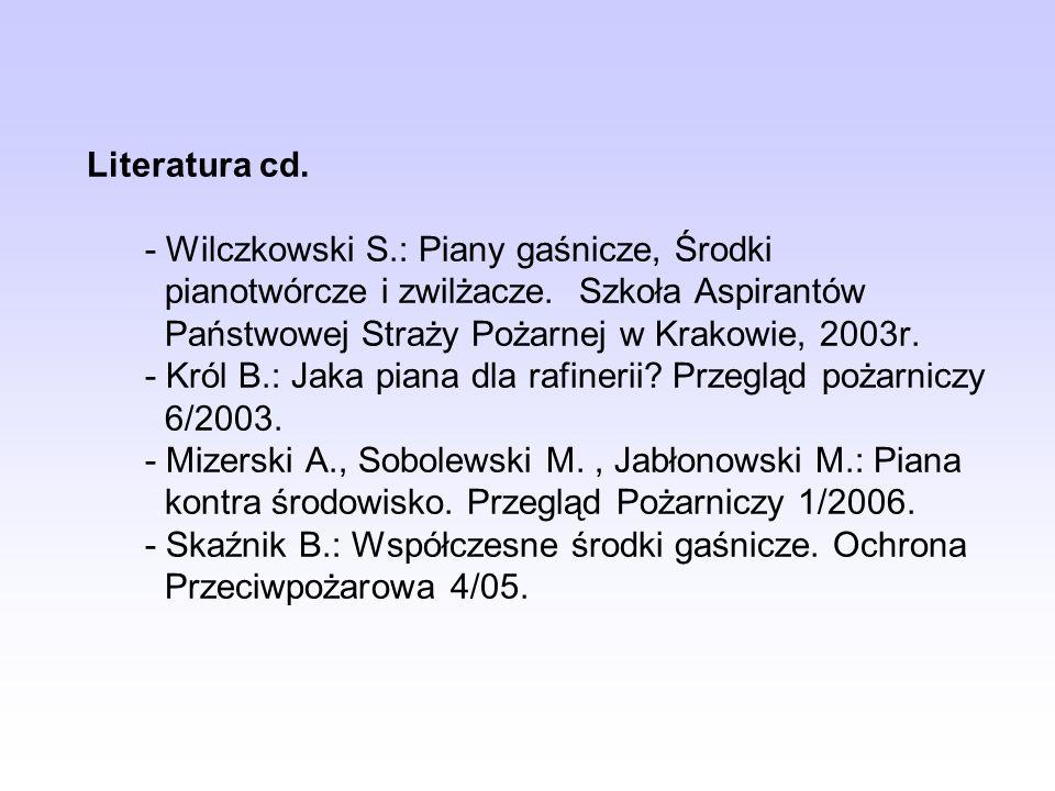 Literatura cd. - Wilczkowski S