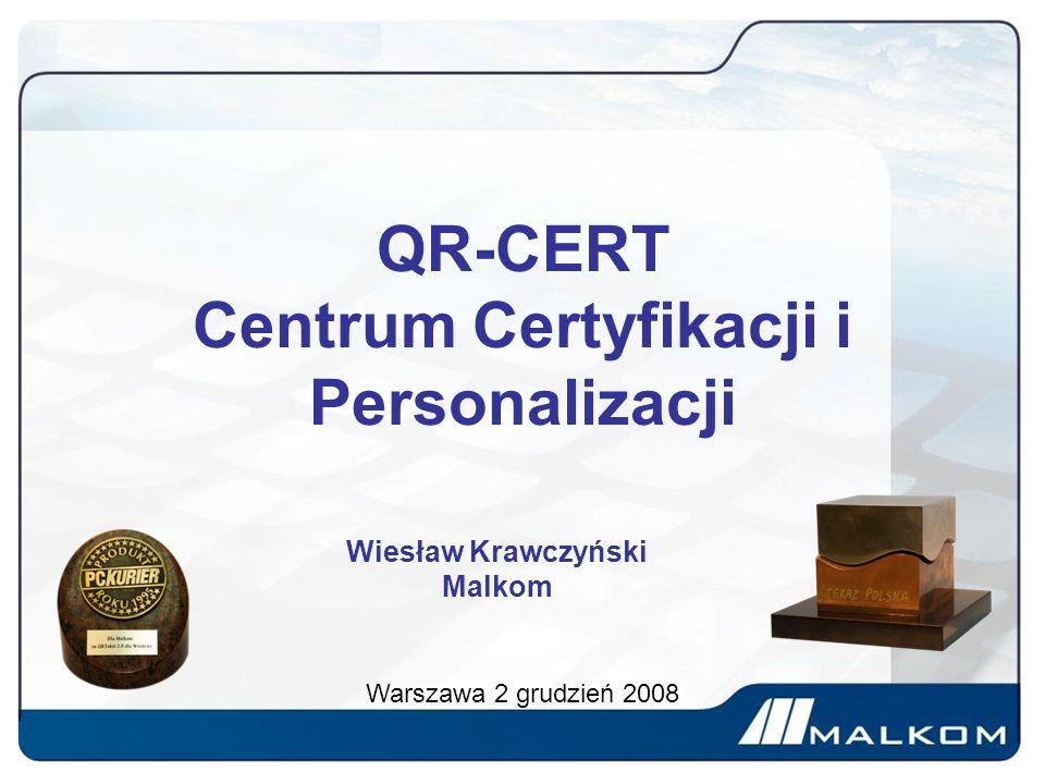 QR-CERT Centrum Certyfikacji i Personalizacji